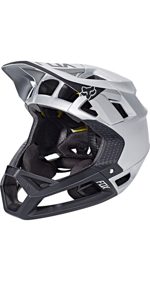 Fox Proframe Moth helm wit/zilver